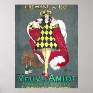 Poster de Cremant du Roi Vintage Champán
