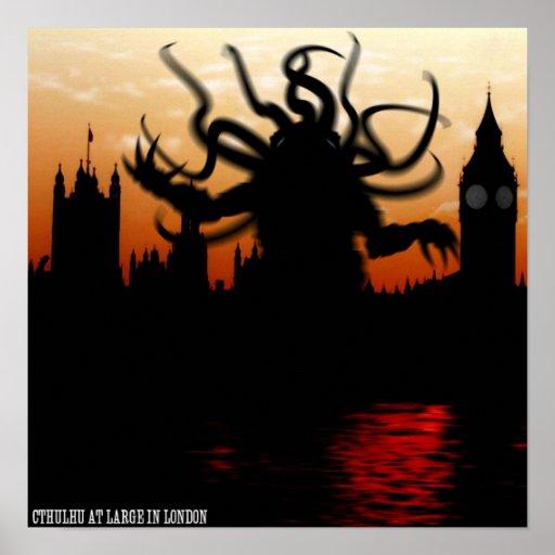 Poster de Cthulhu Londres