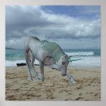 Poster de cuernos del unicornio