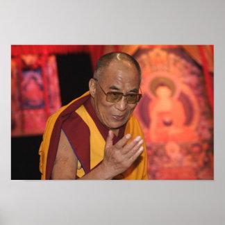 Poster de Dalai Lama/foto de Dalai Lama