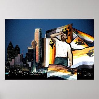 Poster de Dallas del orgullo del oso