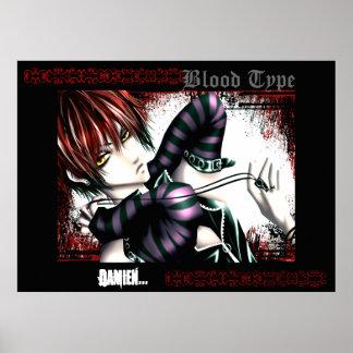 Poster de Damián del vampiro