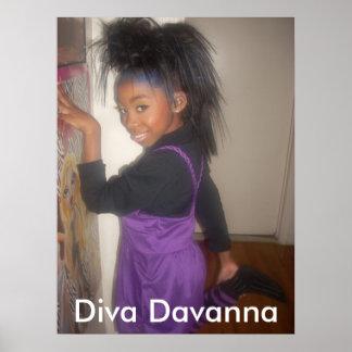 Poster de Davanna de la diva