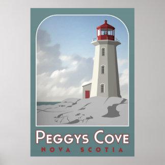 Poster de Deco de la ensenada de Peggy
