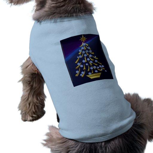 Poster de DecoratedGoldChristmasTree Camisetas Mascota