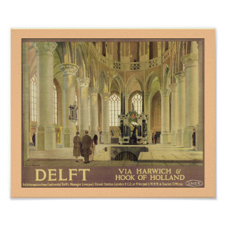 Poster de Delft LNER