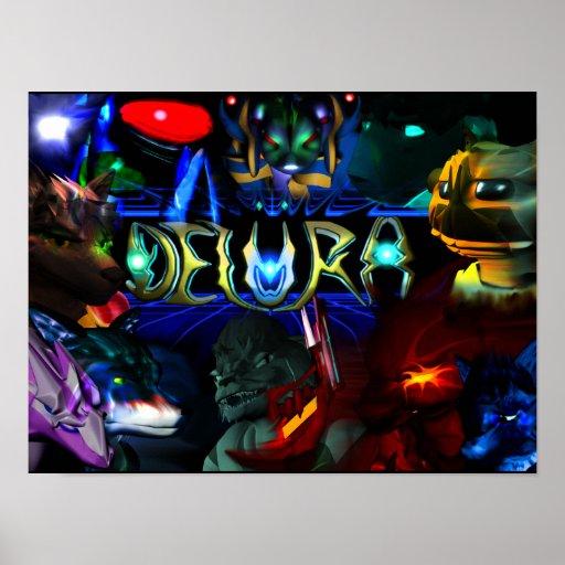 Poster de Delura: Caracteres