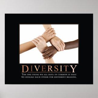 Poster de Demotivational de la diversidad