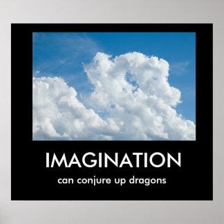 Poster de Demotivational de la imaginación
