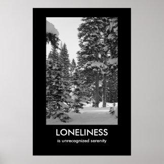Poster de Demotivational de la soledad Póster