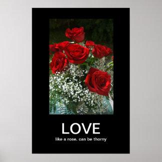 Poster de Demotivational del amor