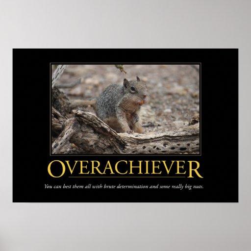 Poster de Demotivational: Overachiever