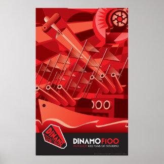 Poster de Dinamo Futurista