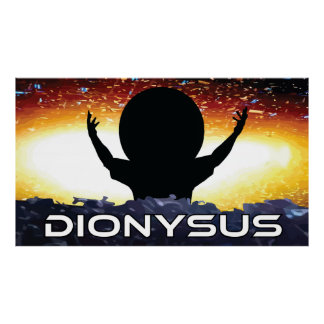Poster de Dionysus - extra grande