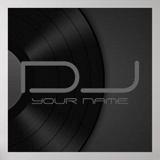 POSTER DE DJ