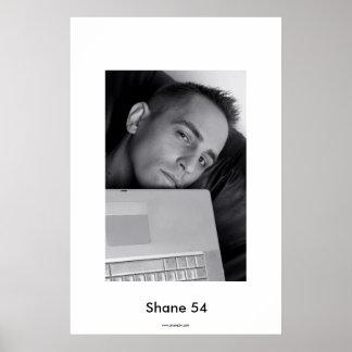 Poster de DJ del ordenador portátil de Shane 54