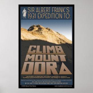 Poster de Dora del soporte de la subida
