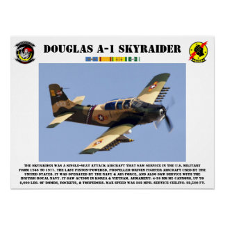 Poster de Douglas A-1 Skyraider