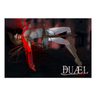 "Poster de ""DUÆL"" - Cadfael"