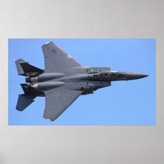 Poster de Eagle de la huelga de F-15E
