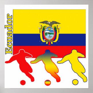 Poster de Ecuador del fútbol