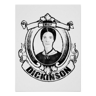 Poster de Emily Dickinson Póster