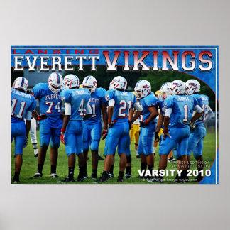 Poster de Everett Vikingos Póster