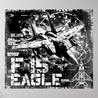 Poster de F-15 Eagle