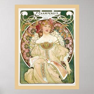 Poster de F. Champenois