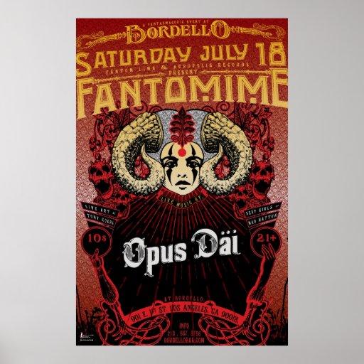 Poster de Fantomime (2009)