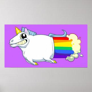 Poster de Fartsv del unicornio