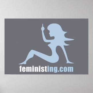 Poster de Feministing
