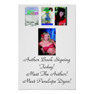 Poster de firma del libro