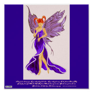 Poster de Flutterby Fae (ciruela damascena)