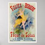 Poster de Folies Bergere de Julio Cheret