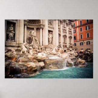 Poster de Fontana di Trevi Roma