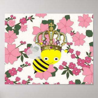 Poster de Frameable de la abeja reina