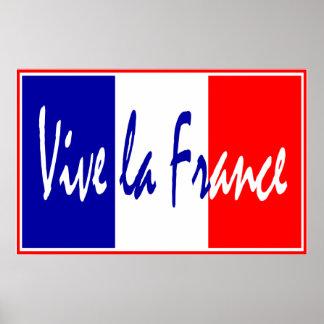 Poster de Francia del La de Vive, restaurante fran