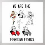 Poster de Freuds que lucha