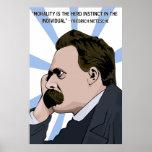 Poster de Friedrich Nietzsche