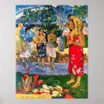 Poster de Gauguin Ia Orana Maria