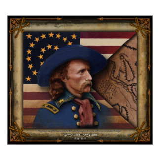 Poster de George Armstrong Custer Póster