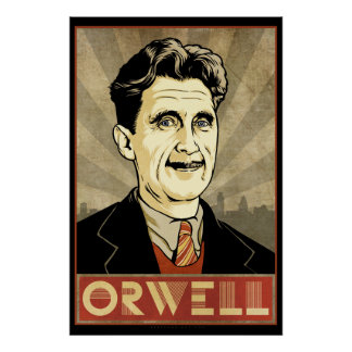 Poster de George Orwell