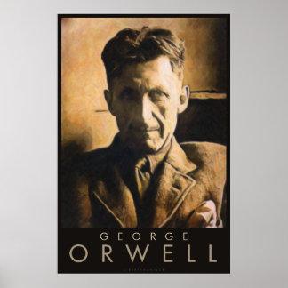 Poster de George Orwell