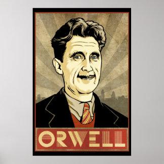 Poster de George Orwell Póster