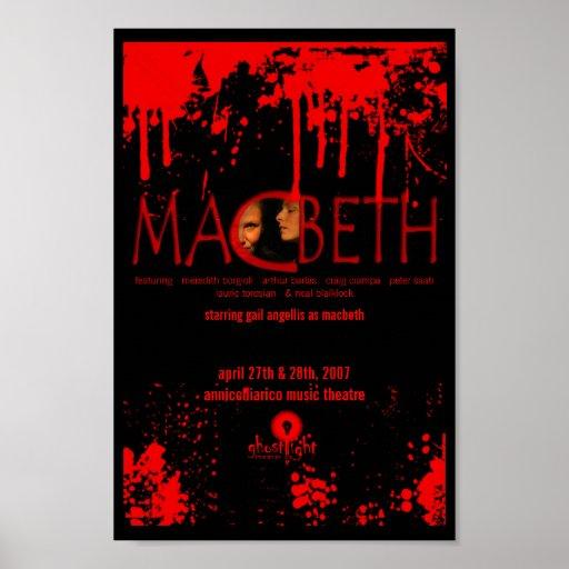 Poster de Ghostlight Macbeth