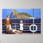 poster de Gibraltar DE TAN BAJO COMO 8,60 Póster