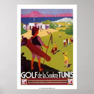 Poster de Golf de la Soukra Túnez