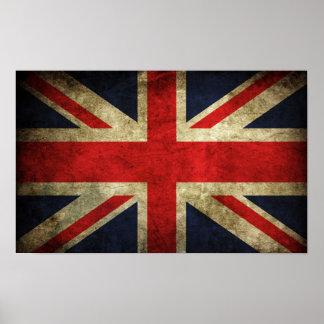 Poster de Gran Bretaña del vintage