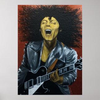 Poster de Guru del metal (mi tributo a Marc Bolan) Póster